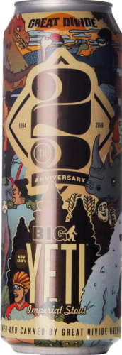 Great Divide 25th Anniversary Big Yeti