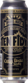 Oskar Blues Chocolate Hazelnut Praline Ten FIDY Barrel-Aged Imperial Stout
