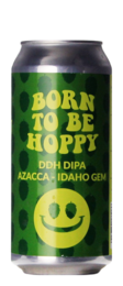 Monkey Browar Born To Be Hoppy DDH DIPA Azacca Idaho Gem