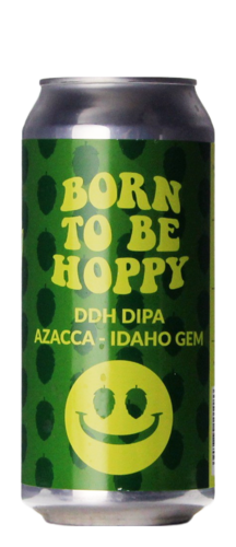 Monkey Browar Born To Be Hoppy DDHA DIPA Azacca Idaho Gem