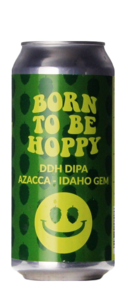 Monkey Browar Born To Be Hoppy DDHA DIPA Azacca Idaho Gem