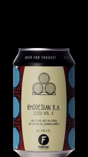 Frontaal Rhodesian BA Blend 2020 Vol II