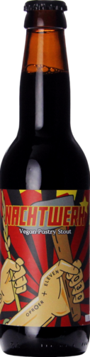 Oproer / Eleven Brewery Nachtwerk (Cacao Vanilla Vegan Pastry Stout)